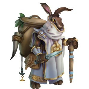 An image of Rabbish in adult form