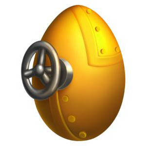 An image of Scaraborg in egg form