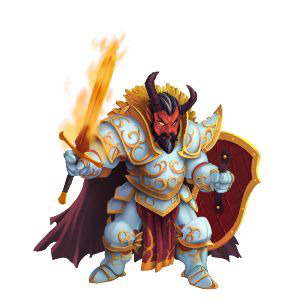 An image of Warmaster Barbael in adult form